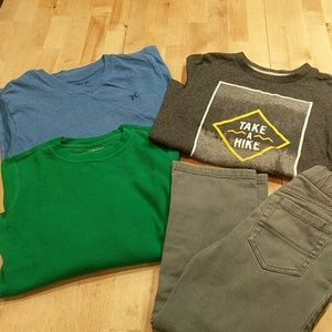 Lot of boys size 6 shirts and pants
